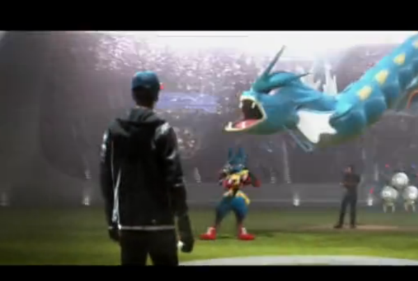 Pokemon TV spot with dragon.