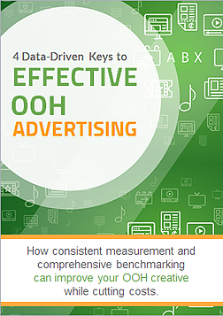 Cover shot of new 4 Data-Driven Keys to Effective OOH Advertising.
