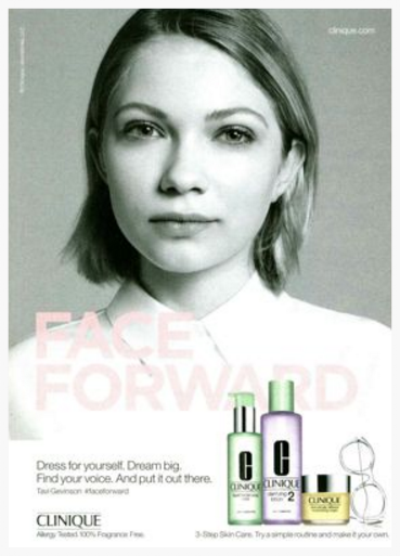 Ad with surprisingly low creative effectiveness score in Beauty for last 90 days - Clinique