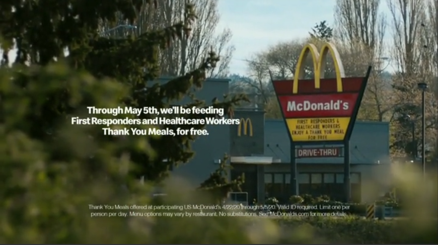 McDonalds ad preview