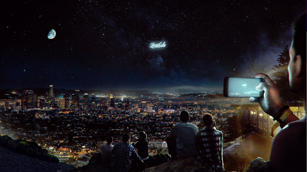 Advertising in space?  Yes, it's being explored.